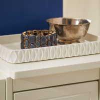 Roselli Wave Amenity Tray