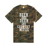 BEER AND DEER AND COUNTRY MUSIC