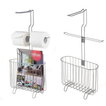 Magazine Rack Holder Toilet Roll Holder Organizer