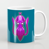 Squid Love Mug by Artistic Dyslexia | Society6
