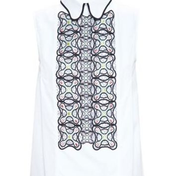 PETER PILOTTO | Sleeveless Shirt | brownsfashion.com | The Finest Edit of Luxury Fashion | Clothes, Shoes, Bags and Accessories for Men & Women
