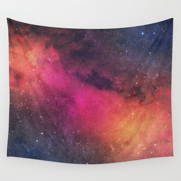 Born In Nebula #society6 Wall Tapestry by Wild Vibes