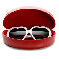 Oversize Colorful Eyewear Vinyl Hard Snap Case 1023