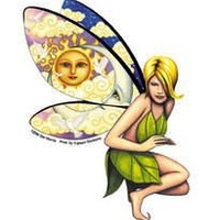 Dan Morris - Claudia Fairy - Sticker / Decal