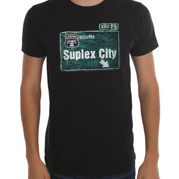 WWE Brock Lesnar Suplex City T-Shirt