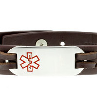 Medical ID Alert Bracelets and Necklaces. Universal Medical ID.