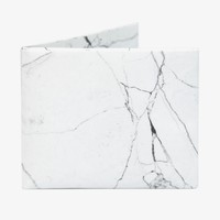 The White Marble Bifold Wallet