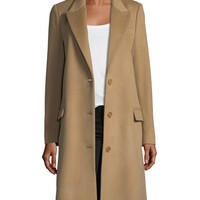 Burberry Fellhurst Wool-Blend Coat