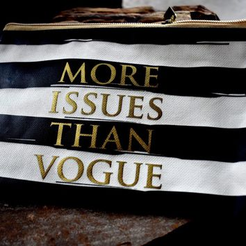More issues than vogue bag
