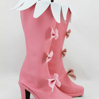 Kill la Kill Nui Harime Shoes Boots Hand Made Custom Made