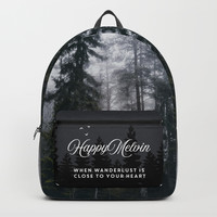 Into the forest we go Backpack by happymelvin