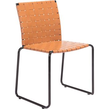 Beckett Outdoor Dining Chairs, Tan (Set of 4)