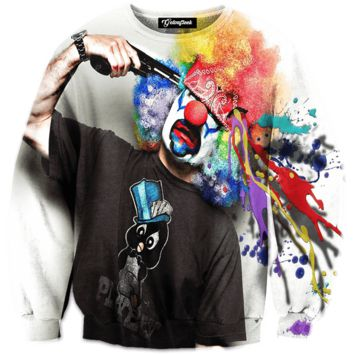 Clown Suicide Crewneck