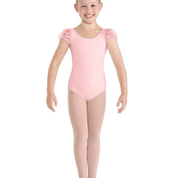 Child Puff Sleeve Leotard CL8632