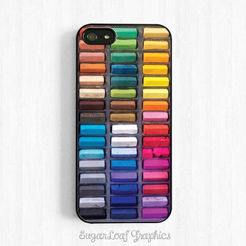 Assorted Color Artists Chalk Crayons iPhone 6 5s 5c 5 4s Case, iPhone 6 Plus Case, Samsung Galaxy s5 s4 s3, Note 3 Case, Art Supply Set NP14