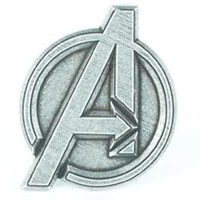Marvel Avengers Logo Silver Belt Buckle - The Avengers - | TV Store Online