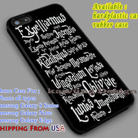 Magic Spells | Harry Potter | Hogwarts iPhone 6s 6 6s+ 6plus Cases Samsung Galaxy s5 s6 Edge+ NOTE 5 4 3 #movie #HarryPotter dl2