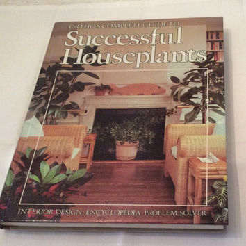 Ortho Successful Houseplants Urban Gardening Indoors Vintage Book Planter Houseplants Care Horticulture Botany Home Decor