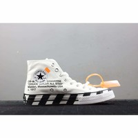 Off-White x Converse All-Star White 2.0 #163862C