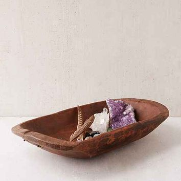Vintage Wooden Bowl- Assorted One