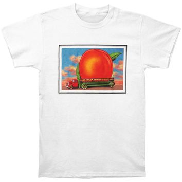 Allman Brothers Band Men's  Eat A Peach Mtn Jammin Tour Mens T-shirt White