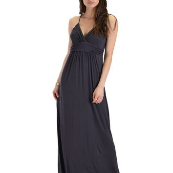 Spaghetti Strap Shift Maxi Dress