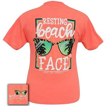 Girlie Girl Originals Preppy My Resting Beach Face T-Shirt