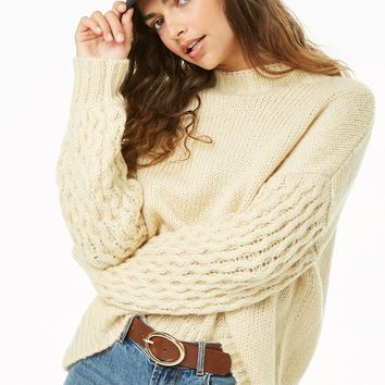 Plush Mock Neck Sweater