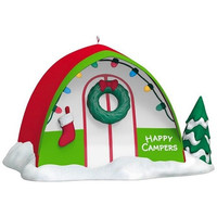 Happy Campers Ornament