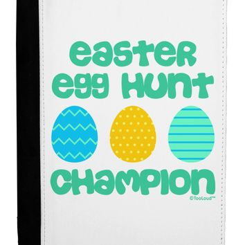 Easter Egg Hunt Champion - Blue and Green Ipad Mini Fold Stand  Case by TooLoud
