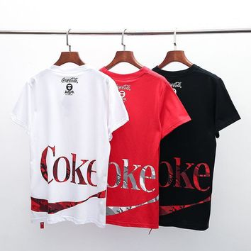 Men Summer Fashion Tops Short Sleeve T-shirts Bottoming Shirt [1276632629284]