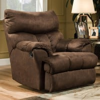 Casual Swivel Styled Rocker Recliner by Southern Motion | Wolf and Gardiner Wolf Furniture