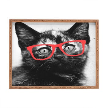 Allyson Johnson Sassy Kitten Rectangular Tray