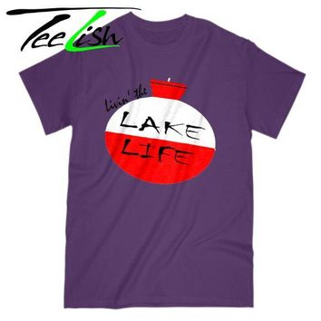 Livin the lake life t-shirt