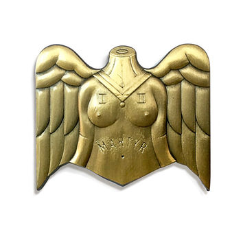 Mother Martyr Pin