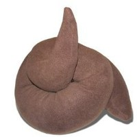 Amazon.com: Fleces Coil Poo Pillow: Home & Kitchen