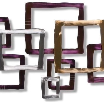 Illusion Contemporary Wall Sculpture by Metal Perspectives