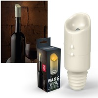 Faux Wax USB Candle Bottle Stopper