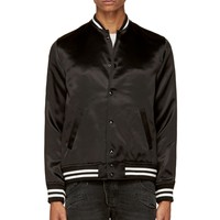 April77 Black Teddy Bomber Jacket