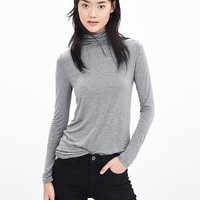 Banana Republic Womens Modal Turtleneck