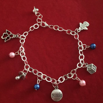 Handmade Lady B By Billie Mum To Be Charm Bracelet