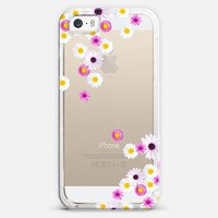 FLOWER RAIN Crystal Clear iPhone Case iPhone 5s case by Monika Strigel | Casetagram
