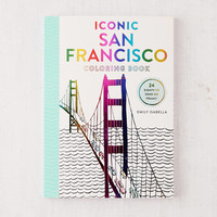 Iconic San Francisco Coloring Book By Emily Isabella | Urban Outfitters
