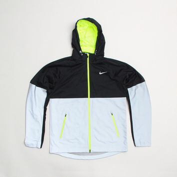 CNCPTS / Nike Zip Up 3M Reflective Jacket (Black/Volt)