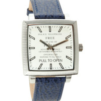 Doctor Who TARDIS Adult Collectors Watch
