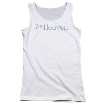 7 Th Heaven - 7 Th Heaven Logo Juniors Tank Top