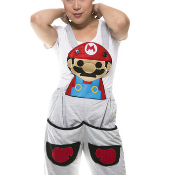 Mario Grey Jumpsuit