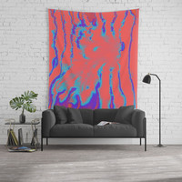 fake out Wall Tapestry by duckyb