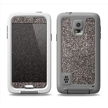 The Black Glitter Ultra Metallic Samsung Galaxy S5 LifeProof Fre Case Skin Set