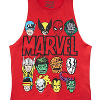 Conversation-Starting Marvel Muscle Tee